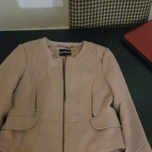 NWOT Express camel jacket
